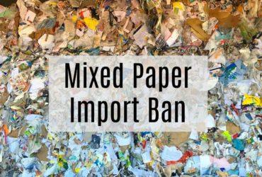 China officially bans mixed paper imports