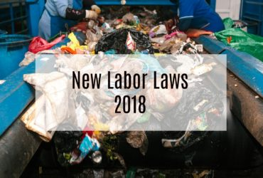 New California Labor Laws Affecting The Recycling Industry In 2018