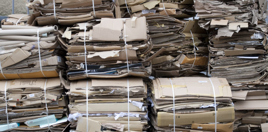 Recycled cardboard prices reach record-breaking highs