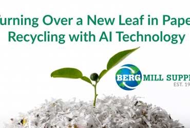 Turning Over a New Leaf in Paper Recycling with AI Technology
